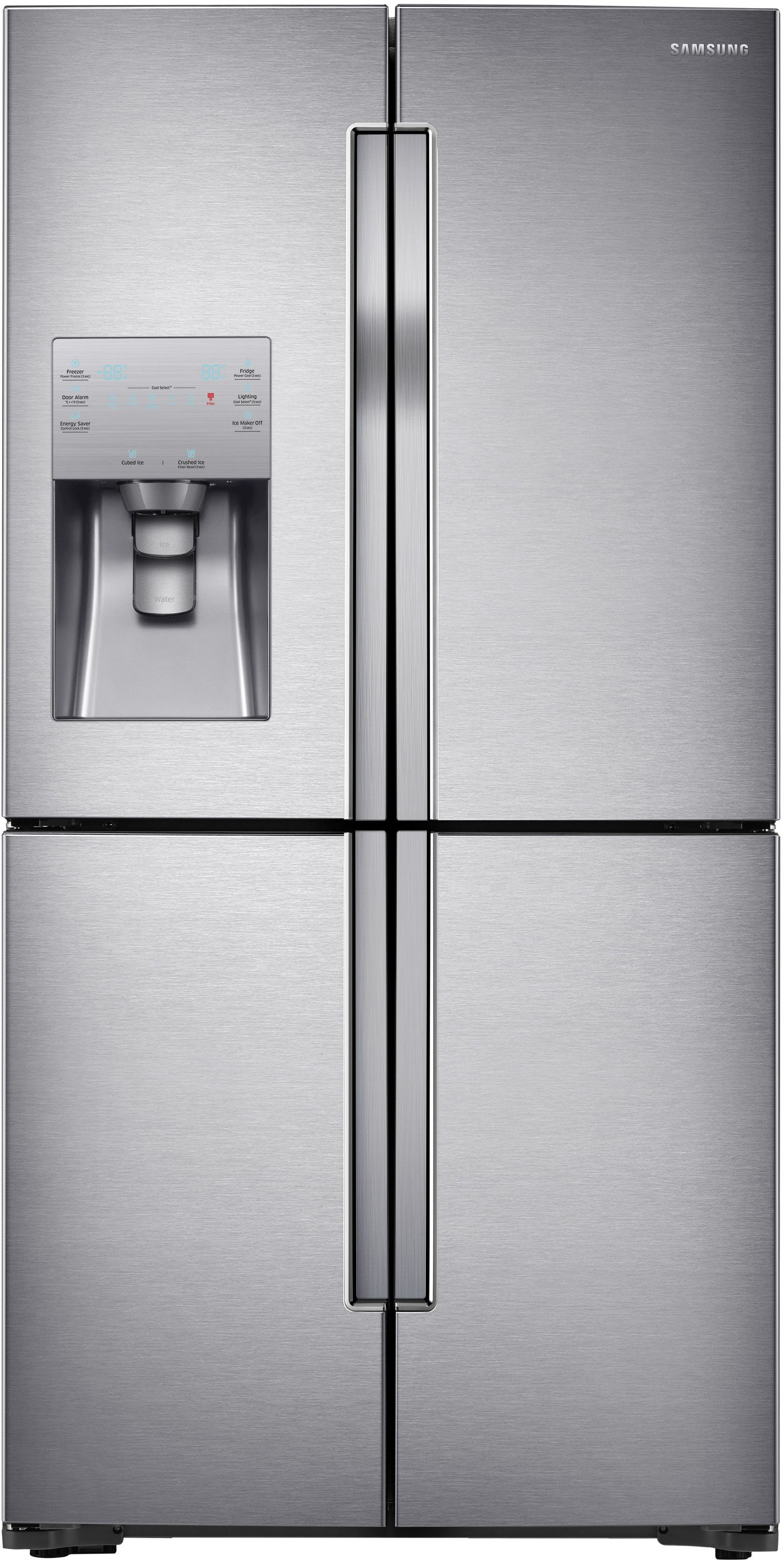 Charming Samsung RF23J9011SR 36 Inch Counter Depth French Door Refrigerator With  22.5 Cu. Ft. Capacity