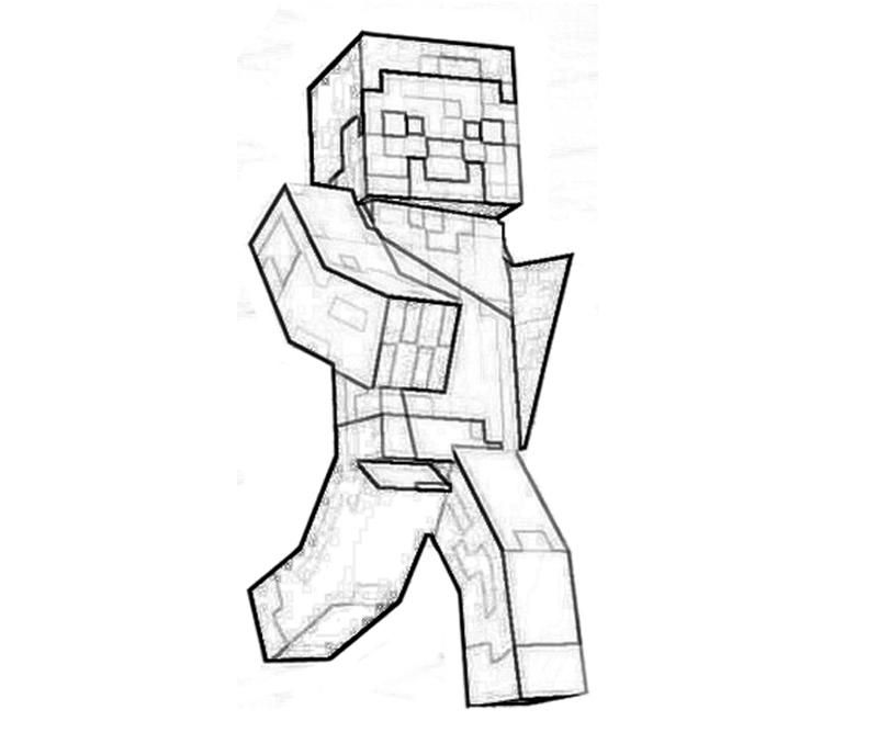 Minecraft Coloring Sheets To Print