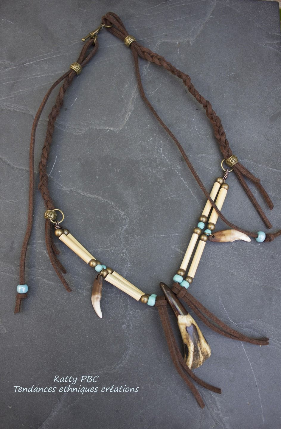 collier femme style indien