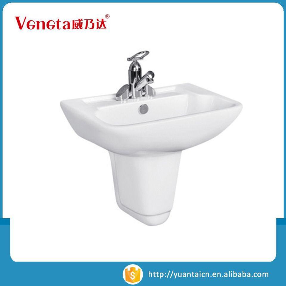 Sanitary ware supplier wall hung mounted ceramic wash hand washing