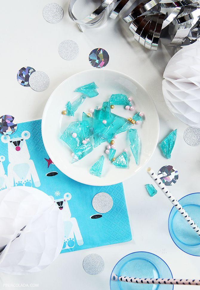 How to make Frozen candy / Ohje jääkarkkeihin