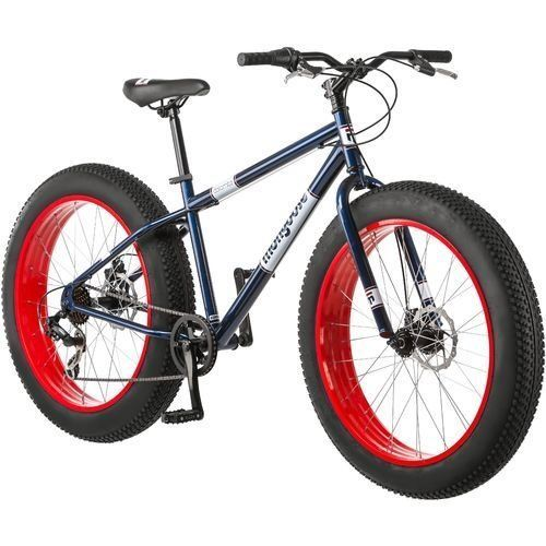 Mongoose 26 Inch Dolomite Fat Boys Tire Cruiser Bike Mongoose