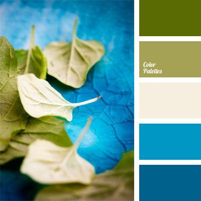 Blue and brown blue color palettes bright blue color - Dark blue room color scheme ...