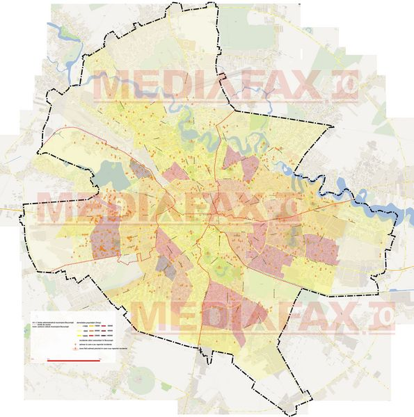 Harta Atacurilor Cainilor Fără Stăpan In Bucuresti Care Sunt Cele