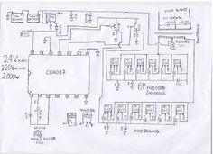 2000 watt inverter circuit diagram/ 24V 2KVA circuit
