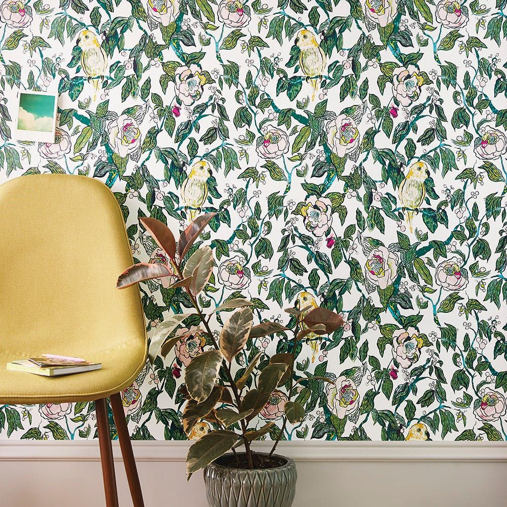 Check Out The Full Opalhouse Lookbook Target S New Boho Home Collection Removable Wallpaper Floral Wallpaper Peel And Stick Wallpaper
