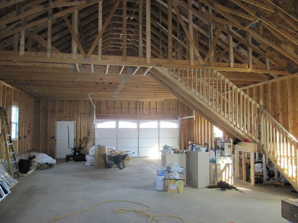 Best Garage With Staircase Staircase Building Garage Loft 400 x 300