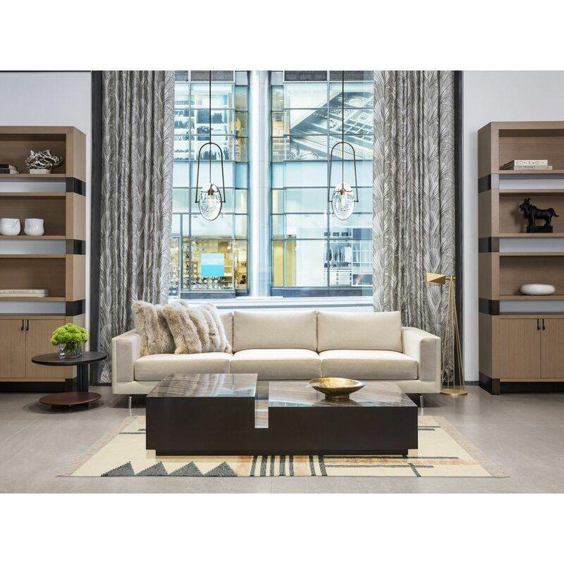 Geometric Handmade Tufted Wool Cream Area Rug Area Rugs Living Room Style Home Decor