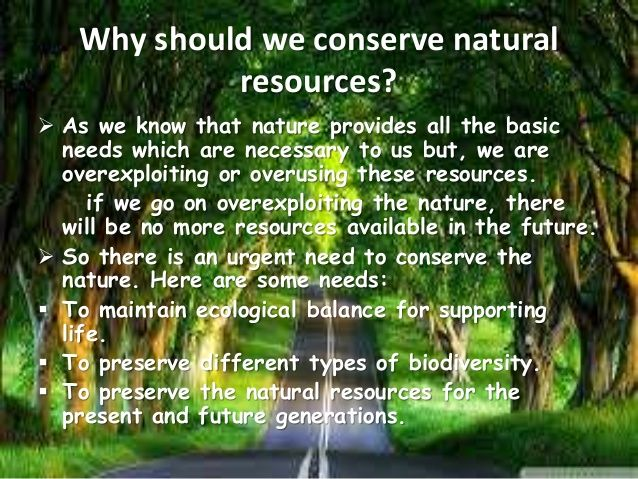 limited and unlimited natural resources