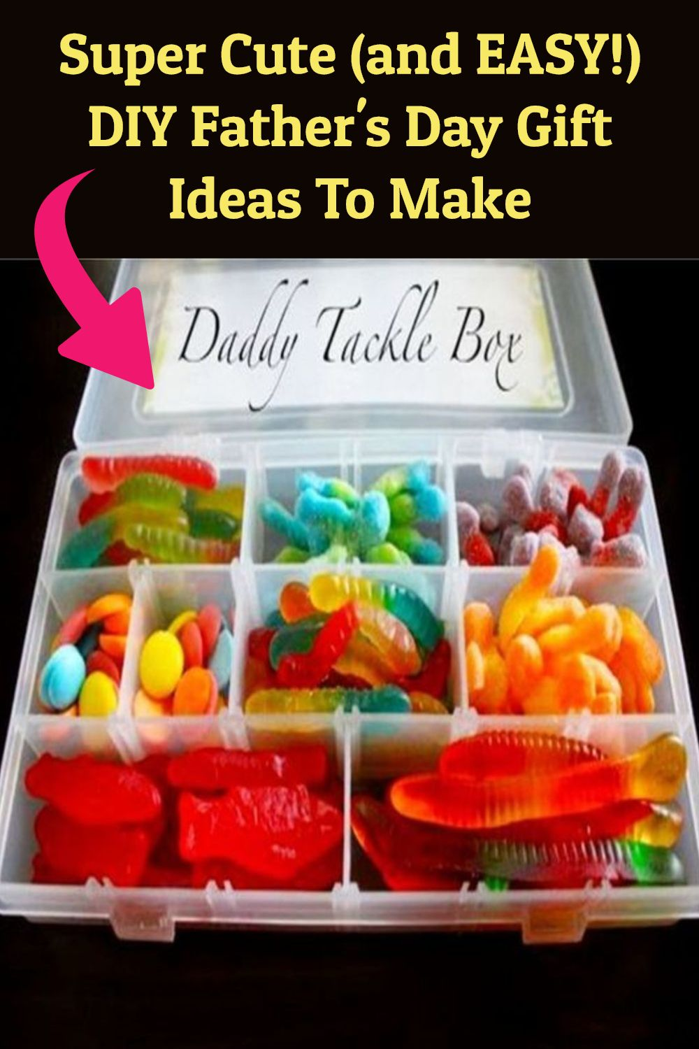 Super Cute (and EASY!) DIY Father's Day Gift Ideas To Make