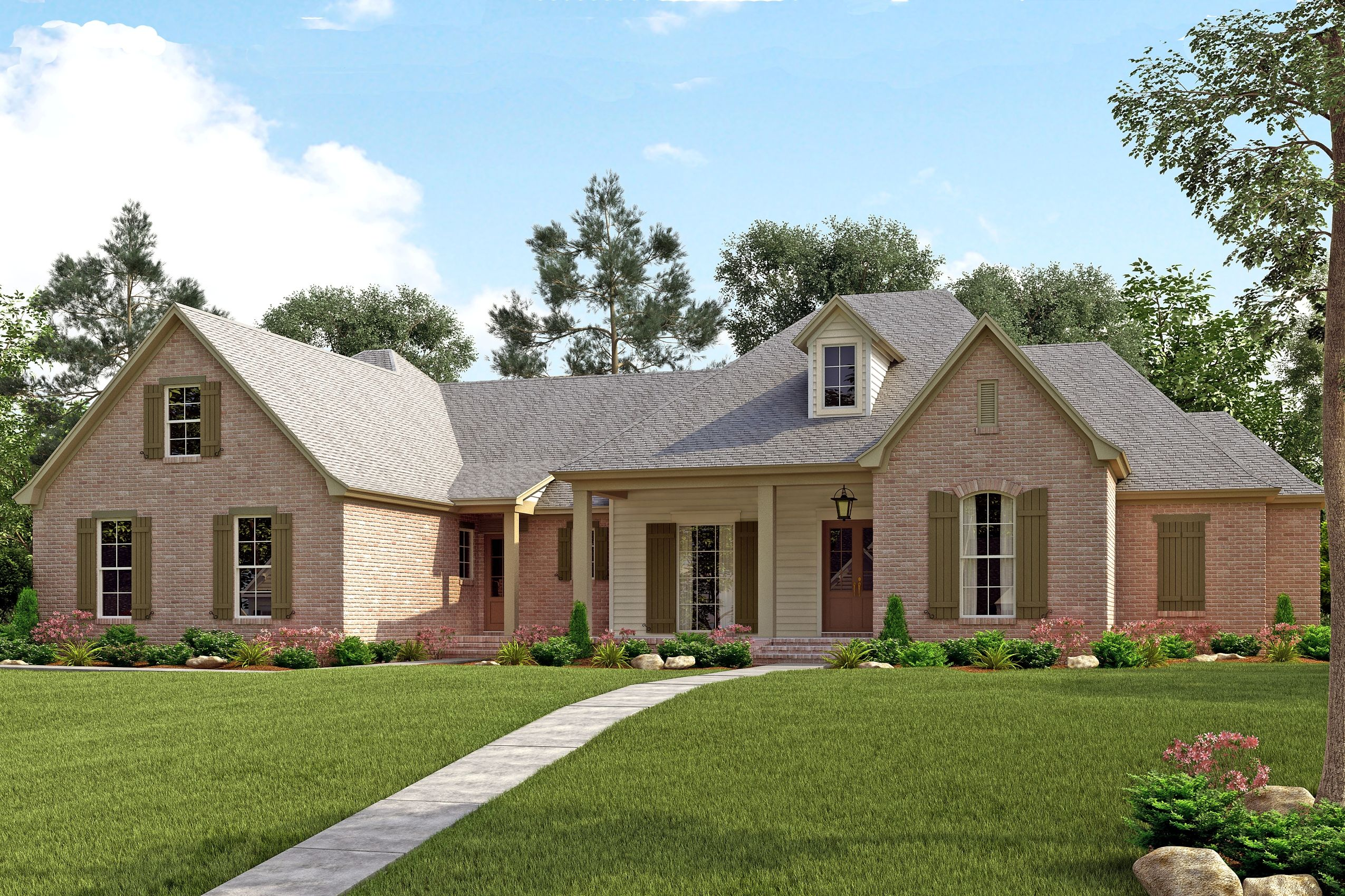 French House Plan 142 1139 4 Bedrm 3195 Sq Ft Home