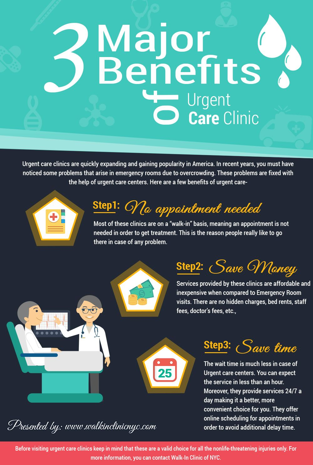 3 Major Benefits of Urgent Care Clinic Walk In Clinic