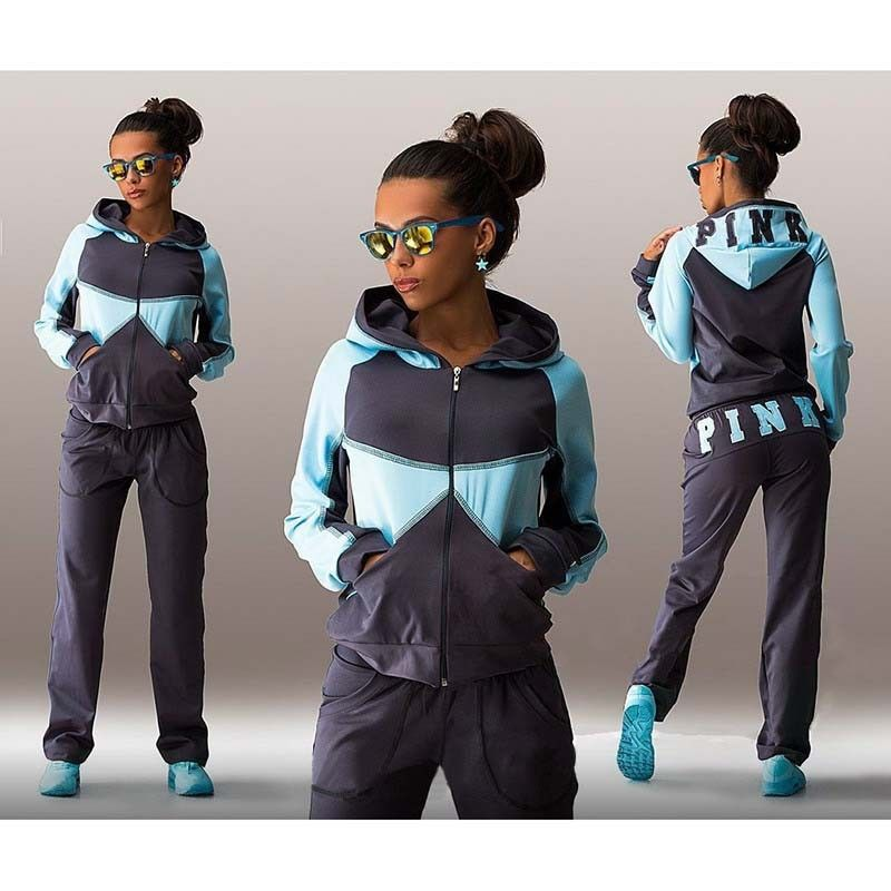 2016 Brand Women Tracksuit suit  Sportswear hoodies Pants track suit set ladies Sweatsuit clothing 2 pieces sets  D494  http://playertronics.com/products/2016-brand-women-tracksuit-suit-sportswear-hoodies-pants-track-suit-set-ladies-sweatsuit-clothing-2-pieces-sets-d494/