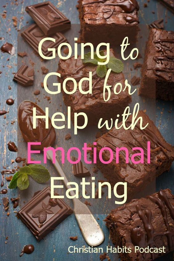Do you ever find yourself eating when you're worried, angry, insecure, or bored?…