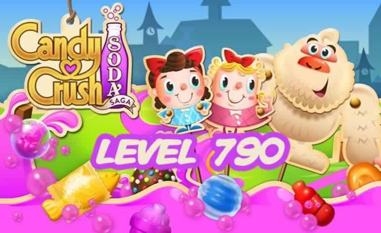 Candy Crush Soda Saga Level 790