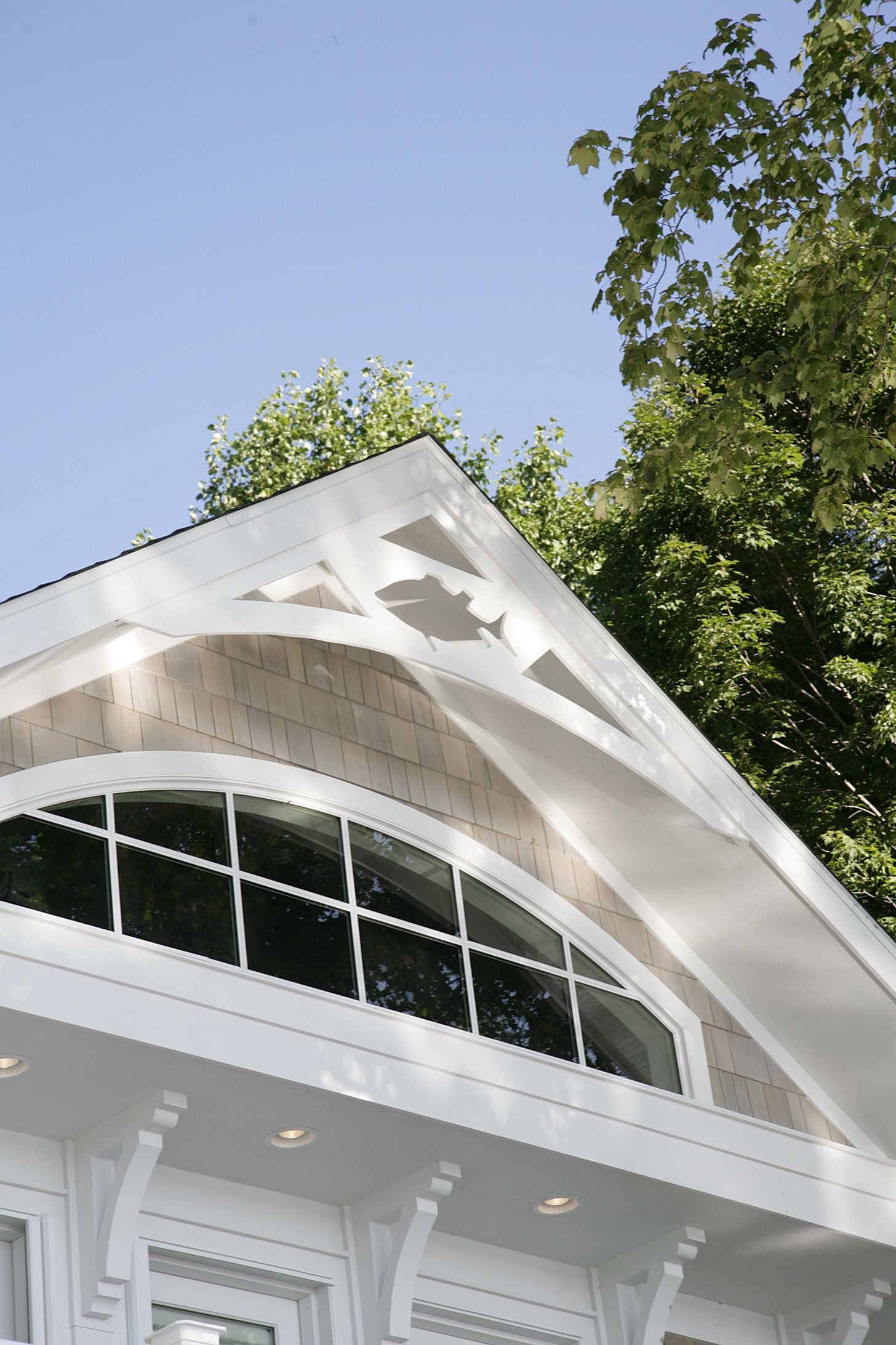 Gable end window ideas  transom window in gable end  windows can make a statement