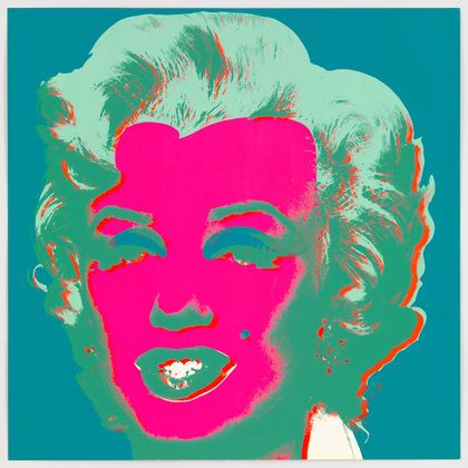 Andy Warhol Untitled From Marilyn Monroe Marilyn 1967 Andy