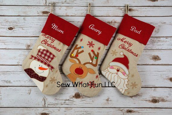 PERSONALIZED Stocking, Christmas stocking, stocking, christmas
