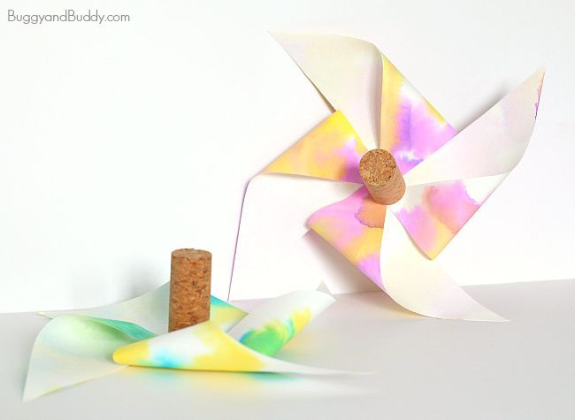 Paper Helicopter Pinwheel With Free Template | Helicopters, Kid