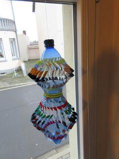 windspiel aus pet flaschen basteln mit kindern pinterest pet flaschen windspiele und flaschen. Black Bedroom Furniture Sets. Home Design Ideas