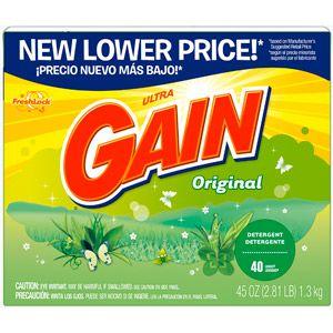 Household Essentials Powder Detergent Gain Laundry Detergent