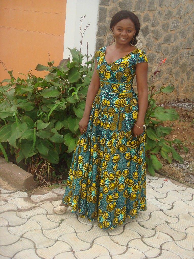 modele-longue-robe-en-pagne-5-768x1024.jpg (768×1024) | robe creation pagne africaine ...