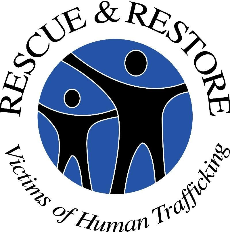 """January is National Human Trafficking Awareness month. And by Presidential proclamation, January 11th is National Human Trafficking Awareness Day. Next Wednesday, Jan 11th will you join with us by uploading the """"Rescue & Restore"""" logo to your Social network and placing some of our Crisis Line stickers in high volume / high risk locations around your community?"""