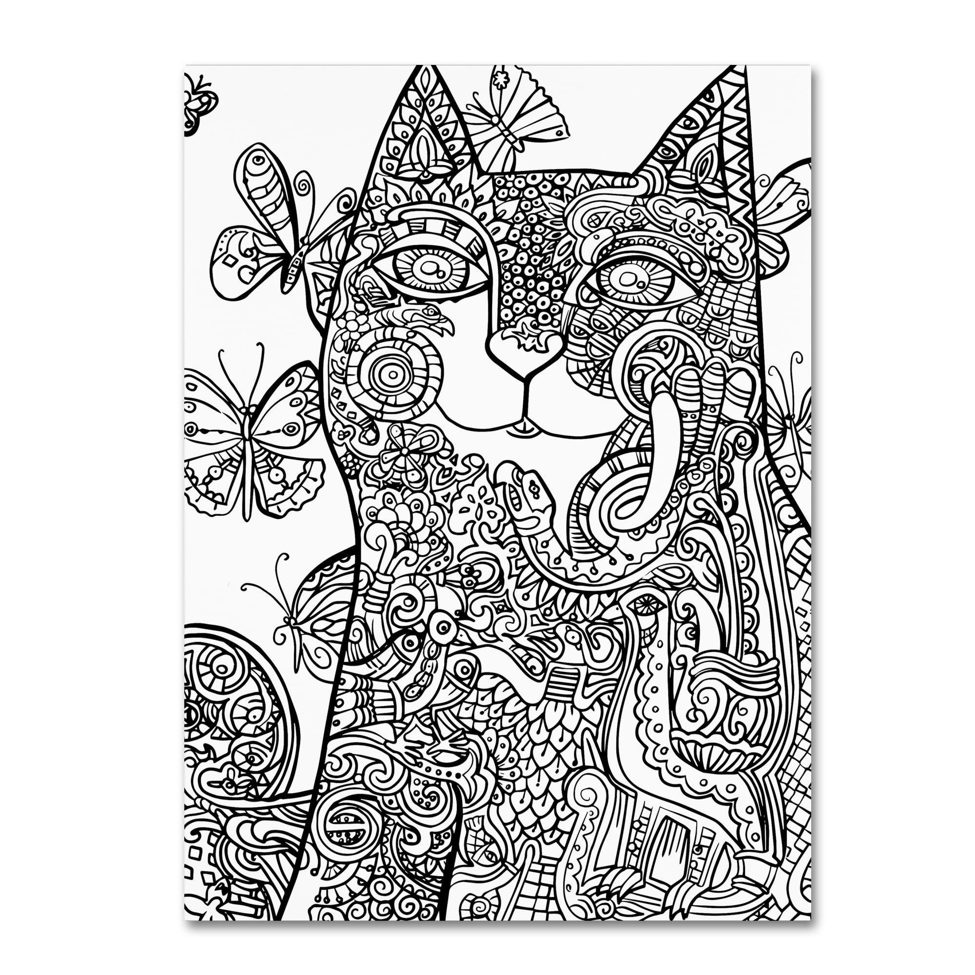 Oxana ziaka uireland cat u canvas art products pinterest