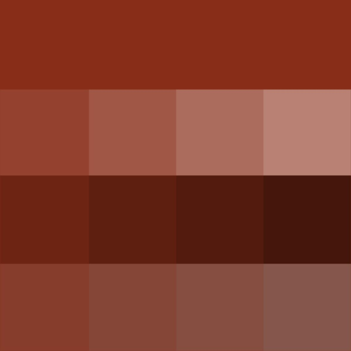 What Color Is Sienna >> Sienna Hue Tints Shades Tones Hue Pure Color With