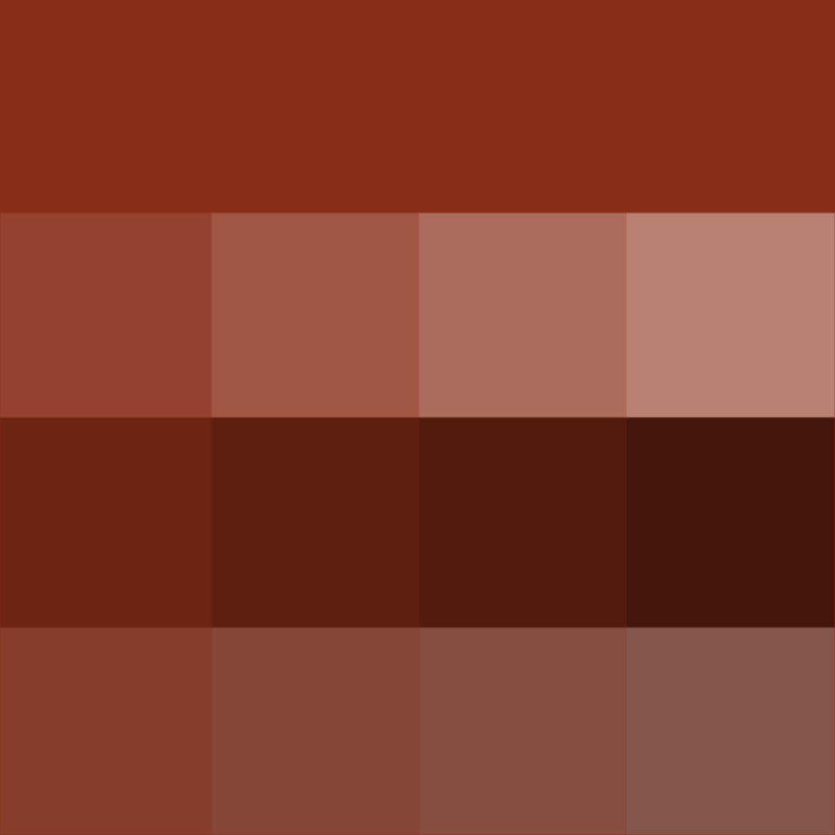 Sienna Hue Tints Shades Tones Hue Pure Color With Tints Hue White Shades Hue Black And Tones Hue Grey Wh Color Color Theory Mauve Color Sienna, in its natural state, gets its coloring from iron oxide and manganese minerals. sienna hue tints shades tones hue