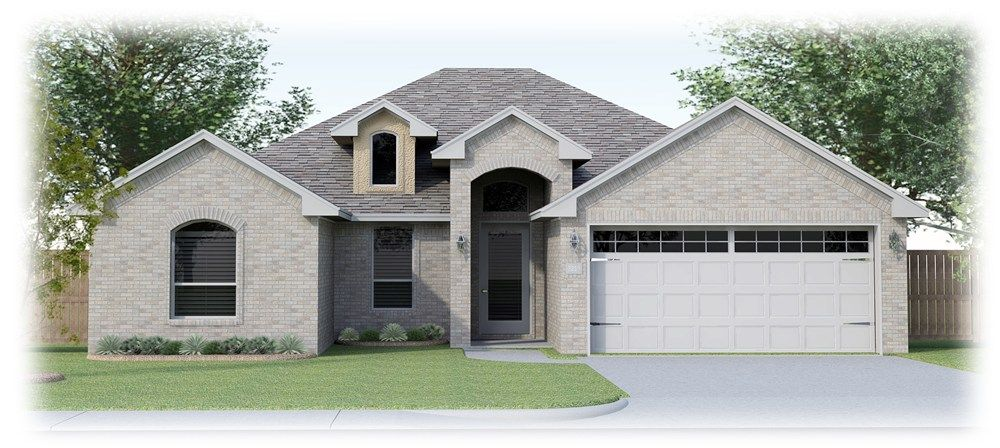 Daybreak House Plans Part - 16: The Francesca (Elevation B) Home Plan By Permian Homes In Daybreak Estates
