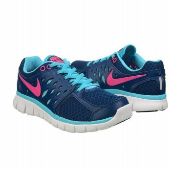 Nike  Athletic Running Shoes Sneaker Blue/pink SIZE 7.5