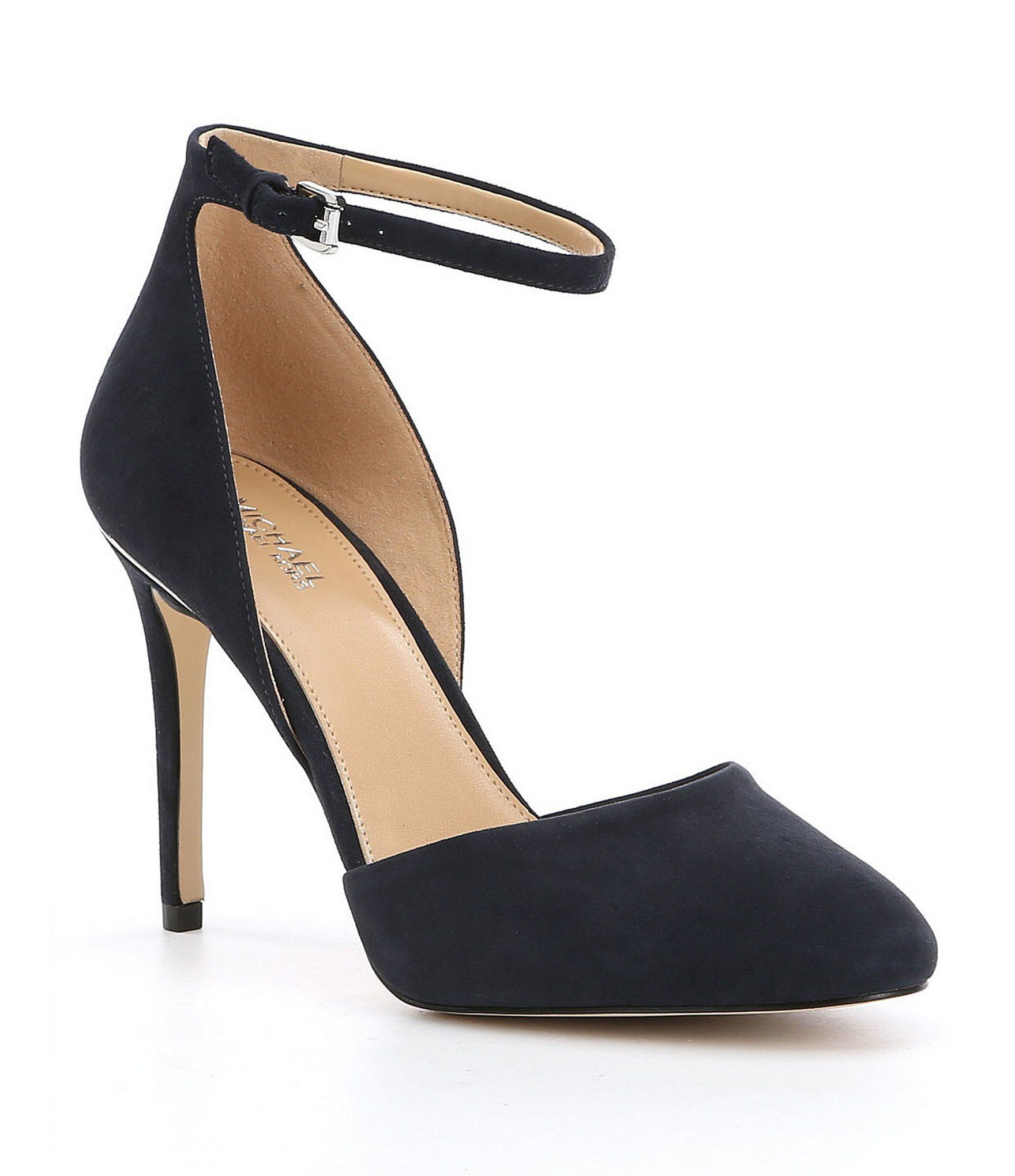 7aba72d7d1 MICHAEL Michael Kors Georgia AnkleStrap Pumps #Dillards | black ...