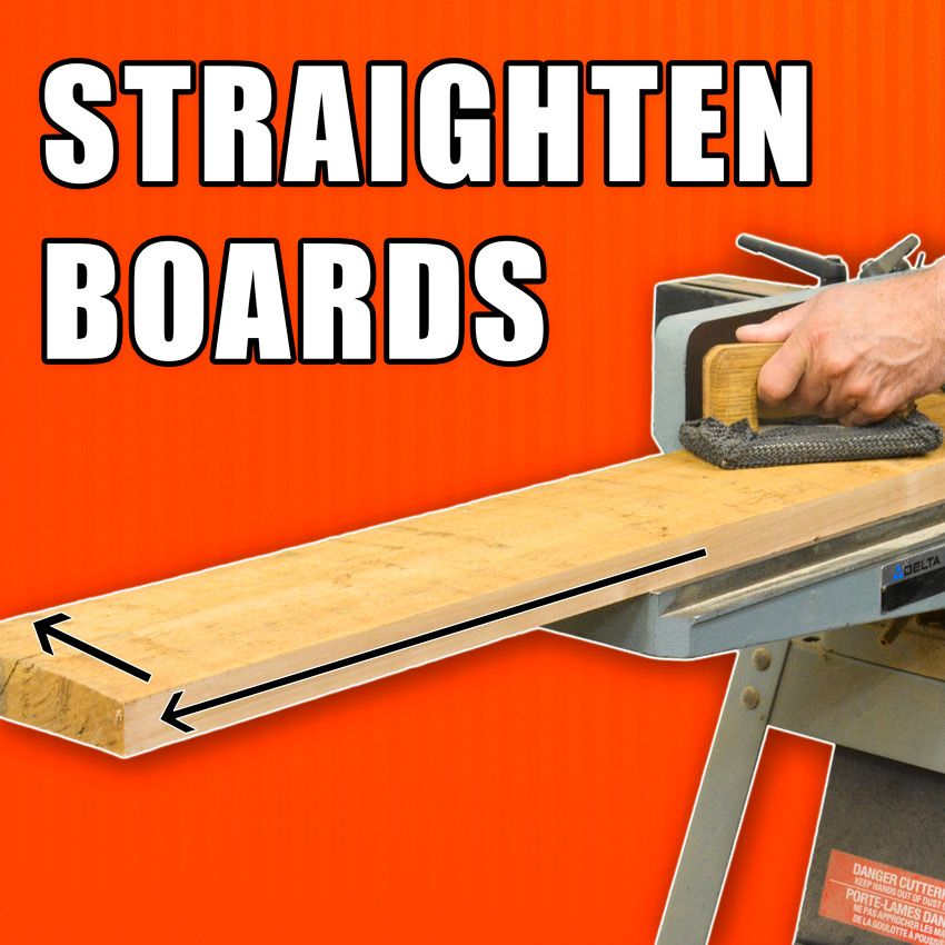 Tips To Straighten Boards And Squaring Lumber With Images Wood Crafting Tools Woodworking Woodworking Wood
