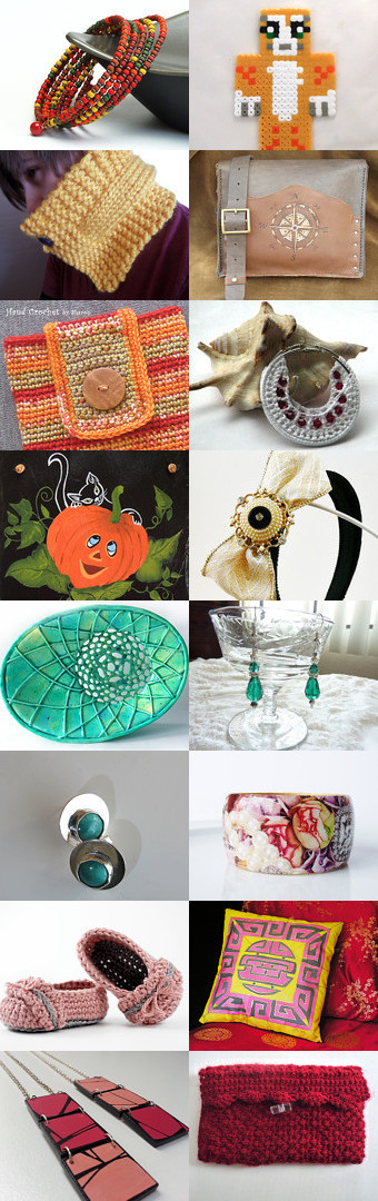 August Handmade Finds by Debbie Cagle Flaherty on Etsy--Pinned with TreasuryPin.com