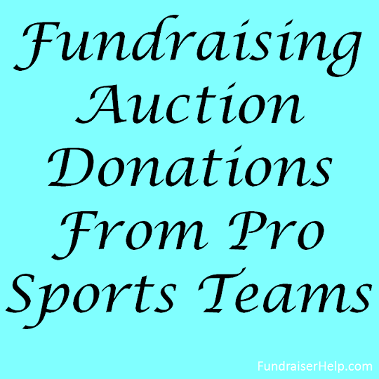Live and Silent Auction Items For Fundraising - cfr1.org