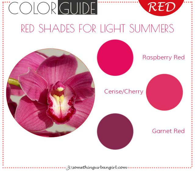Which Red Shade Is The Best For Summer Women Light Summer Color
