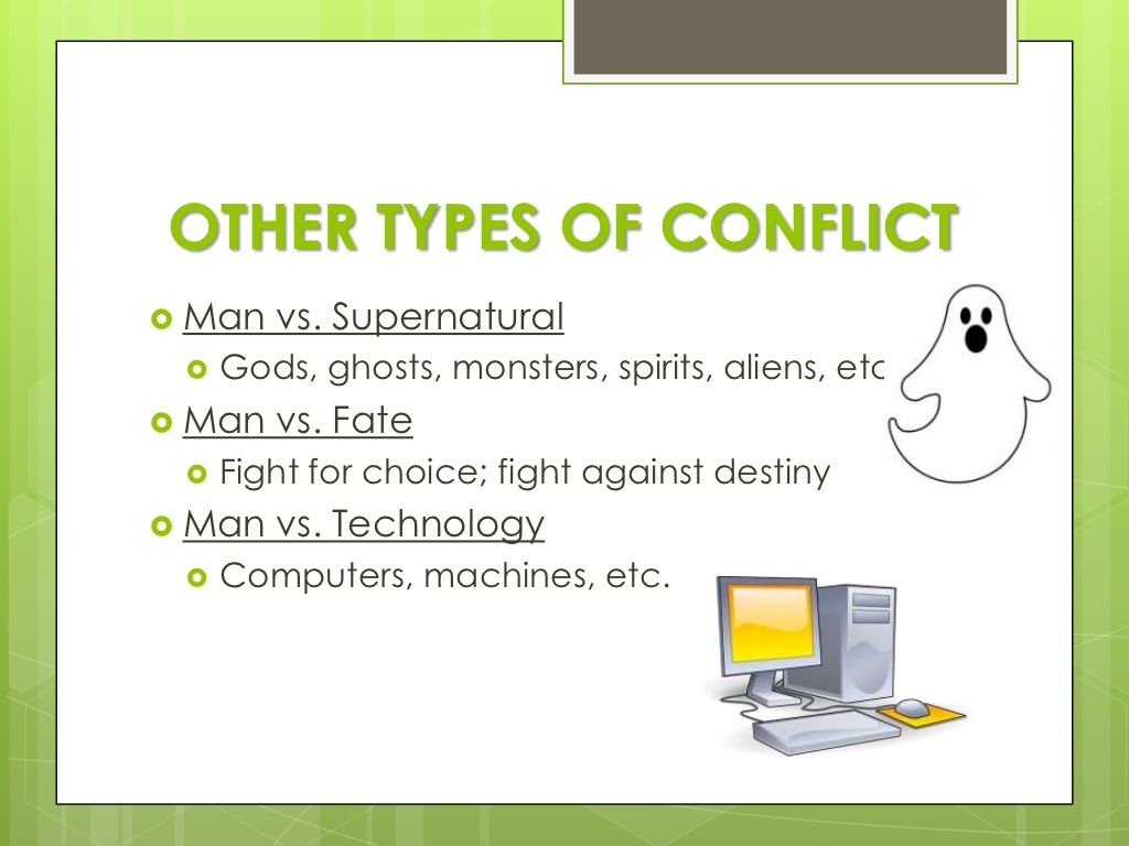 Types Of Conflict In Literature With Images
