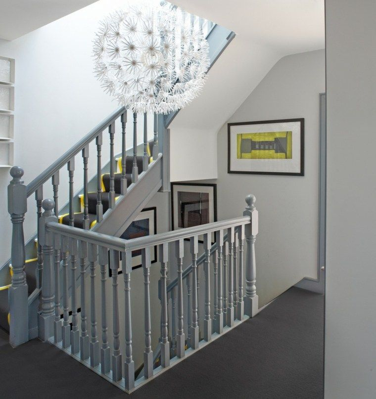 Rampe d\'escalier : 59 suggestions de style moderne