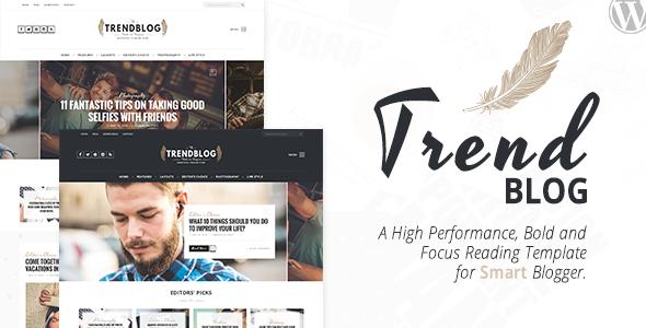 TrendBlog - Creative, Vintage & Elegant Blog WordPress Theme ...