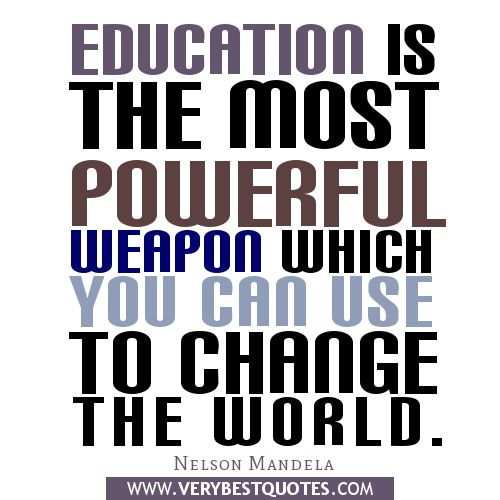 inspirational school quotes | inspirational quotes about education ...