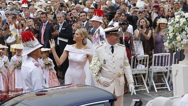 MONACO-ROYALS-MARRIAGE
