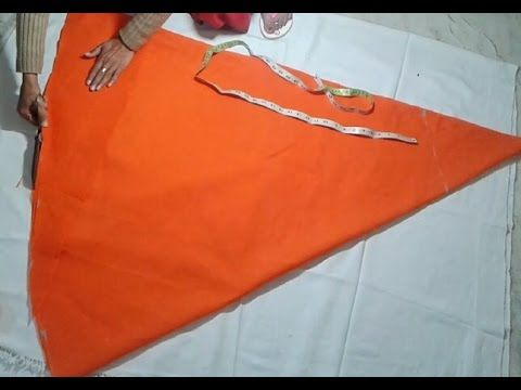 baby frock cutting and sewing instruction
