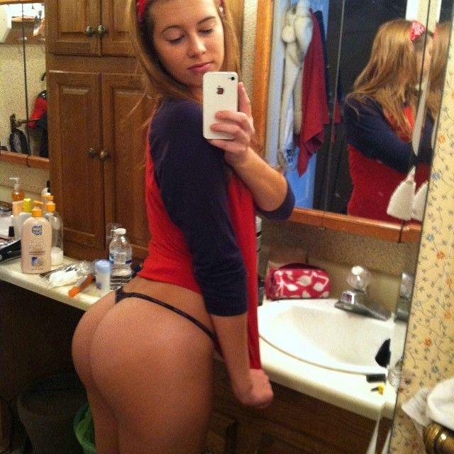 Big teen white ass