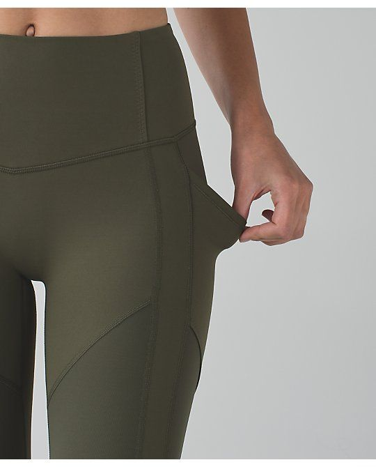9ee402c098eae The Army Green, the pockets + lining. Perfect pants by lululemon ...