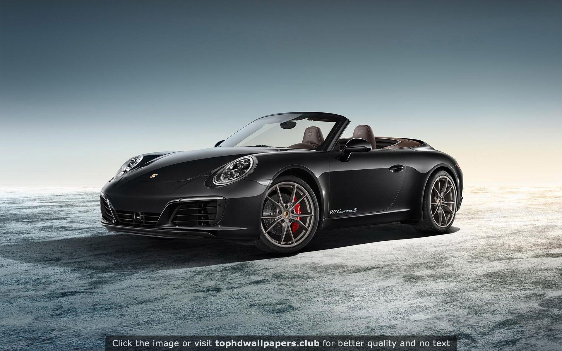 Porsche Exclusive Carrera S Cabriolet 2016 Hd Wallpaper Porsche 911 Cabriolet Porsche Porsche 911