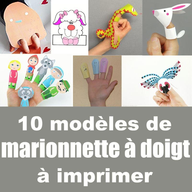 marionnettes doigt marionnettes pinterest marionnette doigts et classe de fran aise. Black Bedroom Furniture Sets. Home Design Ideas