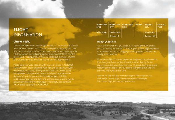 Omaha  Event Agenda On Behance  Design    Behance