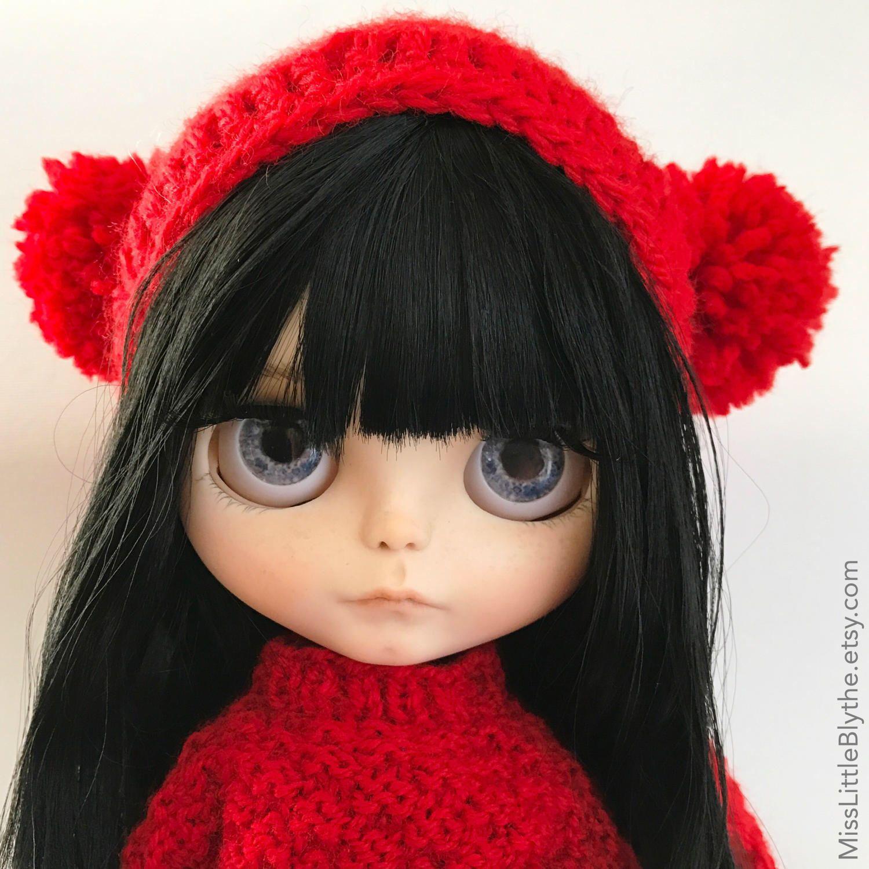 Un preferito personale dal mio negozio Etsy https://www.etsy.com/it/listing/506881638/crochet-hat-for-blythe-doll-gorrito-para