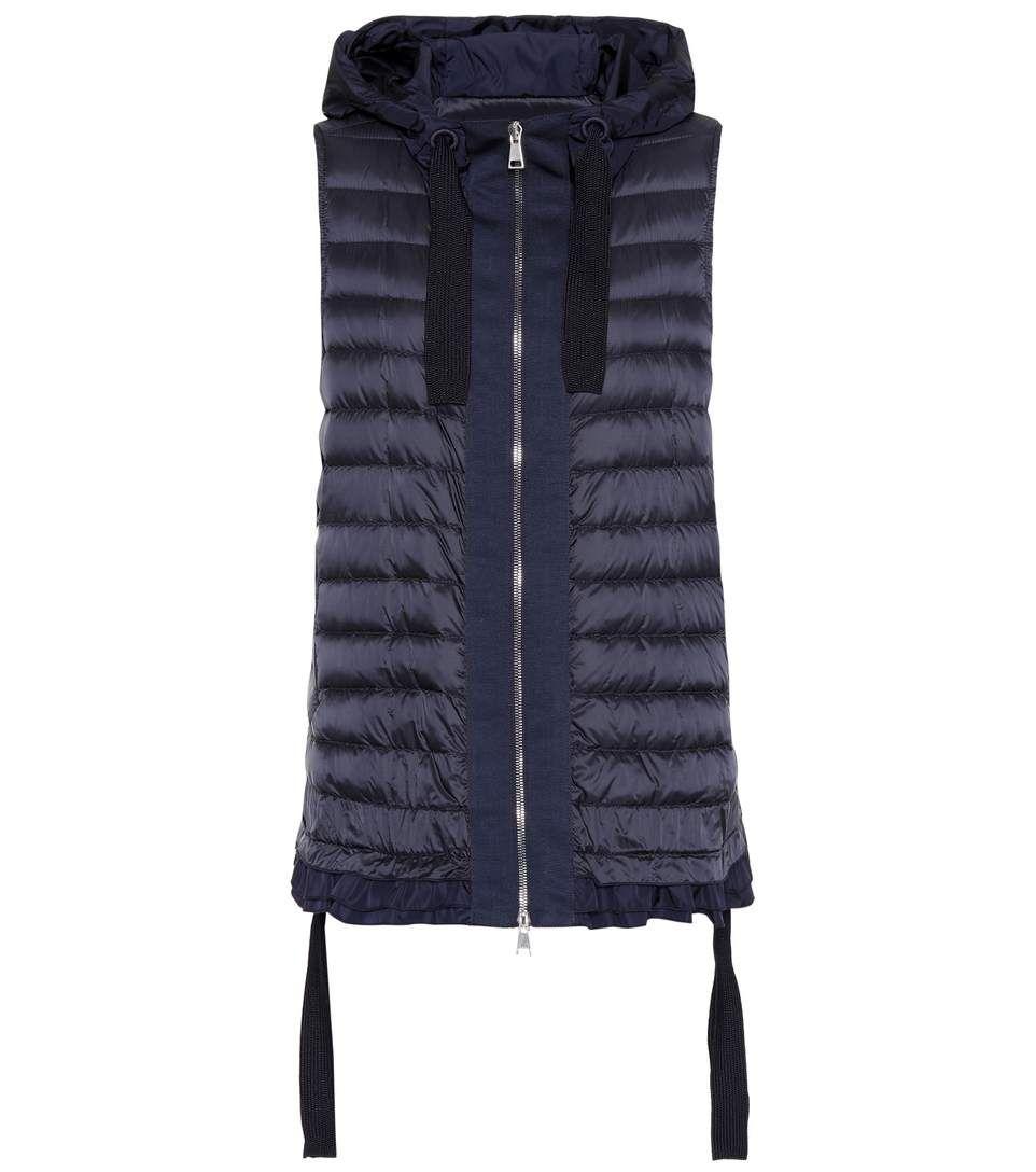 MONCLER Hooded puffer vest. #moncler #cloth #